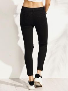 Jeans Negros Rotos * - Toppunt - 3