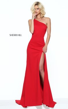 Shop prom dresses and long gowns for prom at Simply Dresses. Floor-length evening dresses, prom gowns, short prom dresses, and long formal dresses for prom. Sherri Hill Prom Dresses, Prom Dresses 2017, Prom Gowns, Sherri Hill Red Dress, Party Dresses, Trendy Dresses, Formal Dresses, Long Dresses, One Shoulder Prom Dress