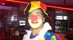 zdjęcie wesołego klauna Apsik z Poznania.
