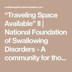 """""""Traveling Space Available"""" II 