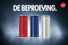 event - blind proeven voor de nieuwe smaken van Red Bull