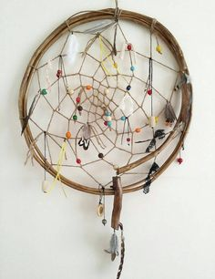 Giant dream catcher gypsy wall hanging ethnic home decor