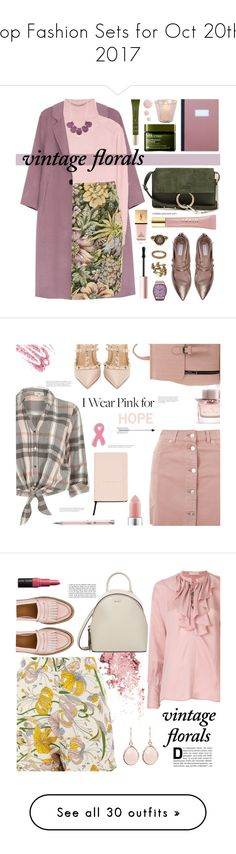 """""""Top Fashion Sets for Oct 20th, 2017"""" by polyvore ❤ liked on Polyvore featuring Tomas Maier, Topshop, Kim Rogers, Tabitha Simmons, AERIN, Origins, Chloé, OMEGA, Rituals and Yves Saint Laurent"""