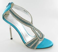 Want to wear turquoise shoes with my dress