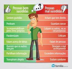 Familia.com.br | Como ser uma #pessoa #bem-sucedida. #Crescimentopessoal