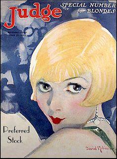 1926--Deco Blond Flapper-