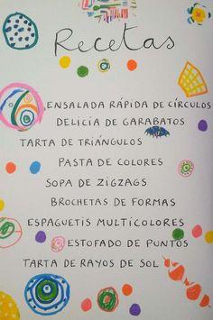La cocina de dibujos-Hervé Tullet Primary School, Pre School, Group Dynamics, Crafts For Kids, Arts And Crafts, Elementary Spanish, Herve, Crafty Kids, Preschool Classroom