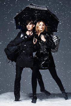 "Burberry ""Winter Storm"" Ad Campaign"