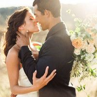 Rustic Sophistication Wedding Shoot in Wine Country