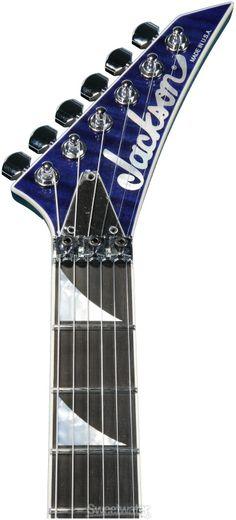 Jackson SL2H Soloist - Transparent Blue | Sweetwater.com