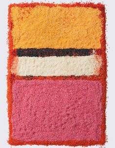 Taste: The Food Photography of Henry Hargreaves, Great Mark Rothko rendition with food