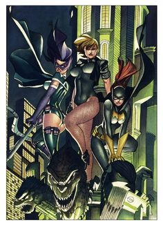 dc+birds+of+prey | birds of prey repinned from birds of prey by 2moro comics