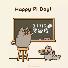 This is totes meowsome! Happy Pi day y'all! :)