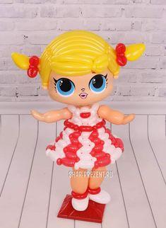 Balloon Arch, Balloon Garland, The Balloon, Balloon Decorations, Balloon Ideas, Doll Party, Balloon Animals, Girl Decor, Lol Dolls