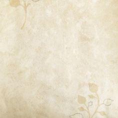Diseño con motivos tipo vegetal color crema en este papel pintado de la colección Windsor XII de Parati.