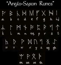 Another Dialect of Saxon Runes.