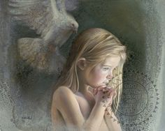 """This painting was done in memory of """"Sandy Hook""""."""