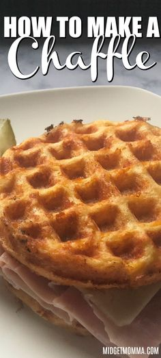 If you are looking for the BEST Keto Chaffle Recipe you are going to love this easy keto chaffle recipe It is Perfect for making sandwiches and more Keto LowCarb Chaffle MidgetMomma Recipe ChaffleRecipe Egg And Bread Recipes, Easy Keto Bread Recipe, Waffle Recipes, Flour Recipes, Keto Friendly Desserts, Low Carb Desserts, Low Carb Recipes, Dessert Recipes, Cooking Recipes