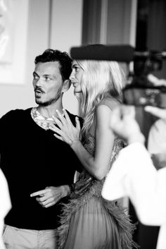 Behind the scenes with Matthew Williamson and poppy Delevigne 15th anniversary celebratory film