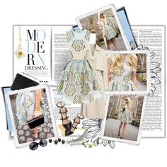 Blog Style: Modern Dressing by theroyalcrime on Polyvore featuring moda, RED Valentino, Gianvito Rossi, M2Malletier, Nila Anthony, Mallarino and modern