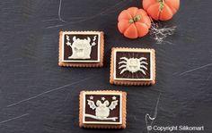 petit ecolier halloween cookie monster silikomart Stampi Per Il Cioccolato c329f7398aa8