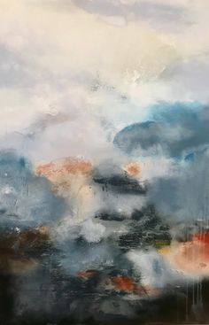 Mountain, Rainbow, Paintings, Abstract, Artwork, Rain Bow, Summary, Rainbows, Work Of Art