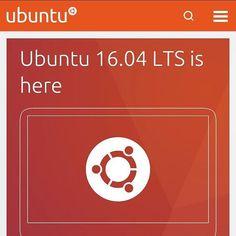 Ubuntu 16.04 it's here ubuntu.com #ubuntu #gnulinux #linux by ariel.almakhzumi