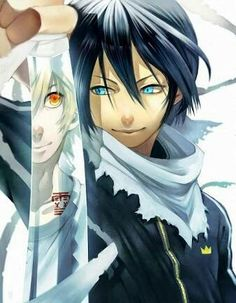 Uploaded by D-Linku Animes. Find images and videos about anime, noragami and yato on We Heart It - the app to get lost in what you love. Anime Wolf, Manga Anime, Art Manga, Anime Art, Female Anime, Manga Girl, Anime Girls, Anime Noragami, Yatogami Noragami