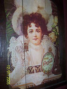 Dried Raisins, Wooden Rack, Coca Cola, Decoupage, California, Sign, The Originals, Poster, Painting