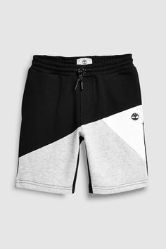 Buy Timberland® Black Colourblock Short from the Next UK online shop – Tori Lehman – Join the world of pin Mens Capri Pants, Track Pants Mens, Cool Outfits For Men, Classy Outfits, Casual Outfits, Nike Outfits, Boy Outfits, Black Timberlands, Chor