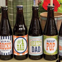 {My Dad Rocks} Label Printables #FathersDayGift