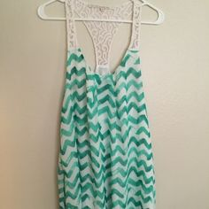 Rachel Roy chevron dress Sorry Beyhive, this Rachel Roy is the bomb. Lacey halter- style top, and smooth breathable fabric. In perfect condition! RACHEL Rachel Roy Dresses Mini