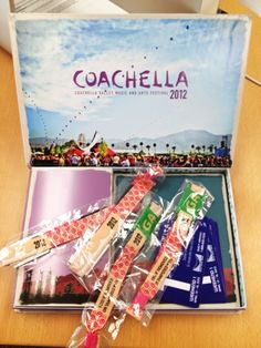 Any of you lucky Pinners going to #Coachella this year? Our weekend 1 passes came in recently. zigabid