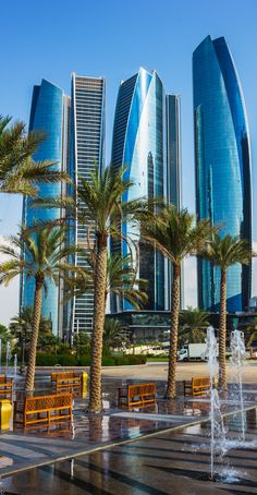 Skyscrapers in Abu Dhabi
