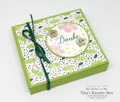 Schokoladen Verpackung Tropenflair - mit Produkten von Stampin' Up!