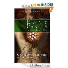 """Green-Eyed Monster by Lily Harlem - Seven Deadly Sins anthology - In the fourth story from the Seven Deadly Sins anthology, penis ENVY takes on a whole new meaning when Helen hatches a plan to use her own """"cock"""" to its fullest extent! I Love Books, Books To Read, Green Eyed Monster, Sweet Revenge, Seven Deadly Sins, Green Eyes, Erotica, Short Stories, Ebooks"""