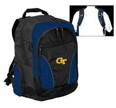 NCAA Georgia Tech Yellowjackets Team Backpack by Logo. $34.13. Take your pride to college or wherever you go! Main compartment provides ample storage for books in addition to a padded area that will hold up to a 17-Inch laptop. Pockets for MP3 player, keys, water bottles, pens, etc.