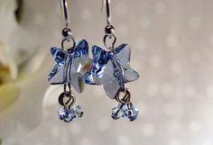 Light Sapphire Blue Star Swarovski Crystals by redlilygems on Etsy, $19.00