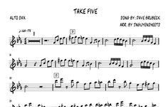 Take Five - Dave Brubeck (Saxophone Sheet Music) - JNguyenSheets Saxophone Sheet Music, Dave Brubeck, Take Five, Old Music, Songs, Jouer, Youtube, Om, Chairs