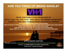 VH1 New Dating Show Casting