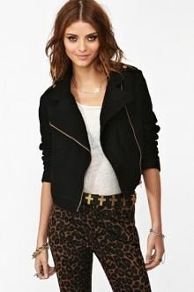 Melody Biker Jacket in What\'s New at Nasty Gal