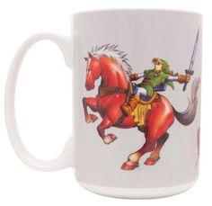 Legend of Zelda: Ocarina of Time - Link on Epona Mug