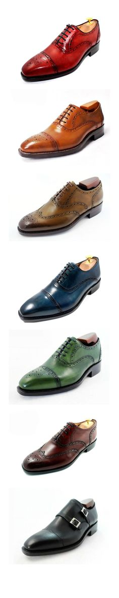 men need to be more adventurous when it comes to the color of their shoes.