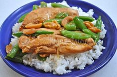 Slow Cooker Cashew Chicken Teriyaki | Southern Plate