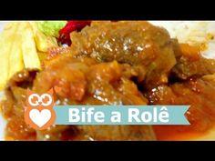 Bife a Rolê : Vídeo receita: http://www.gemelares.com.br/2013/04/bife-a-role.html