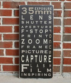 Photography  Typography Word Art by barnowlprimitives on Etsy, $90.00