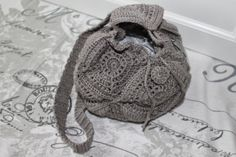 CROCHET BACKPACK  with PATTERN