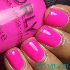 Blue Velvet Lacquer: Orly: Baked Collection For Summer 2014- Swatches, Review, & Nail Art
