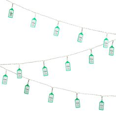 Wowzers well these have to be a sewing room must-have for any gin lover! Gin String Lights from Tatty Devine! Battery Powered String Lights, Battery Lights, Led String Lights, Battery Operated Lamps, Gilbert & George, Devine Design, Flamingo Gifts, Tatty Devine, Gin Lovers