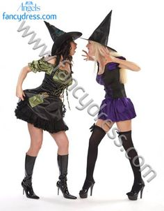5e4068deec Arguing witches Fancy dress costumes are Green patch witch  http   www.fancydress